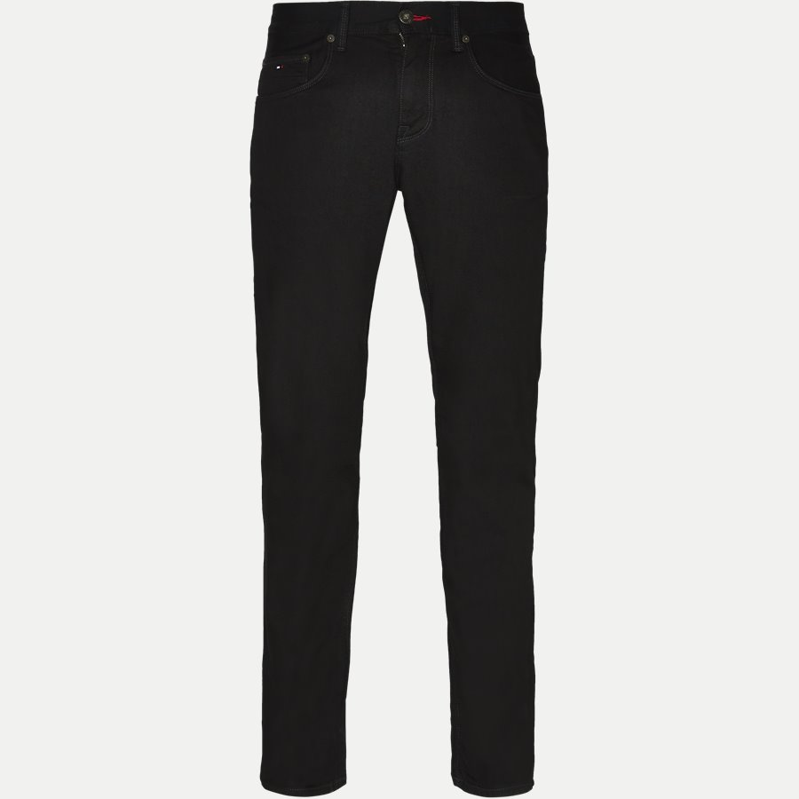 DENTON B CLEAN BLACK - Denton Jeans - Jeans - Straight fit - SORT - 1