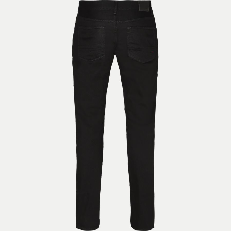 DENTON B CLEAN BLACK - Denton Jeans - Jeans - Straight fit - SORT - 2