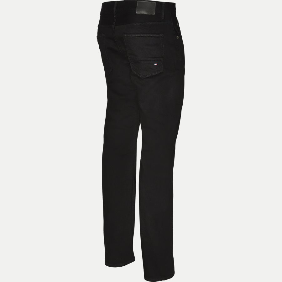 DENTON B CLEAN BLACK - Denton Jeans - Jeans - Straight fit - SORT - 3