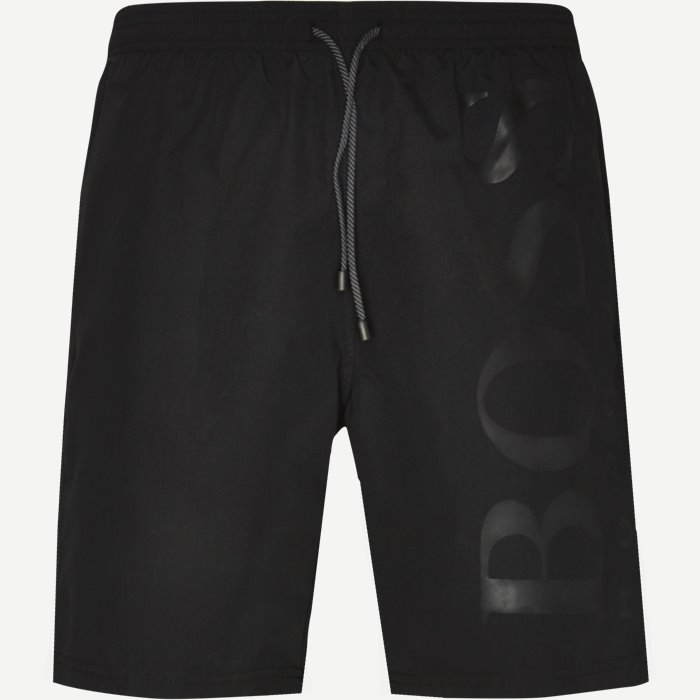 Shorts - Regular - Svart