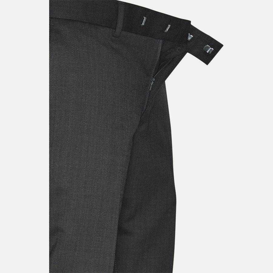62870 GORDON - GORDON bukser - Bukser - Slim - GRÅ - 4