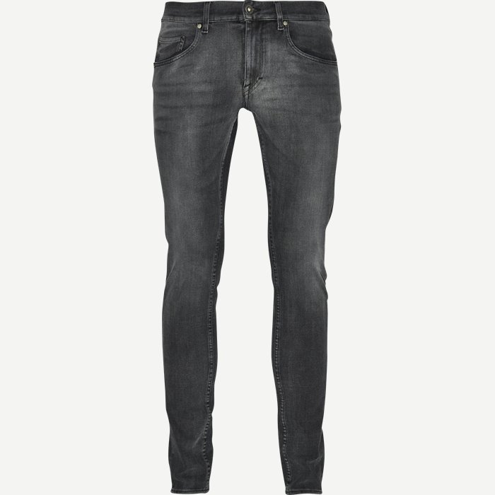 5-pocket Jeans - Jeans - Slim - Grå