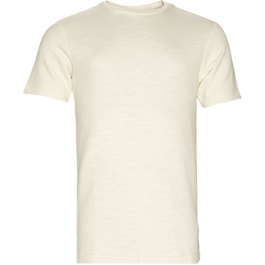 TROPIC - Tropic - T-shirts - Regular - ECRU - 1