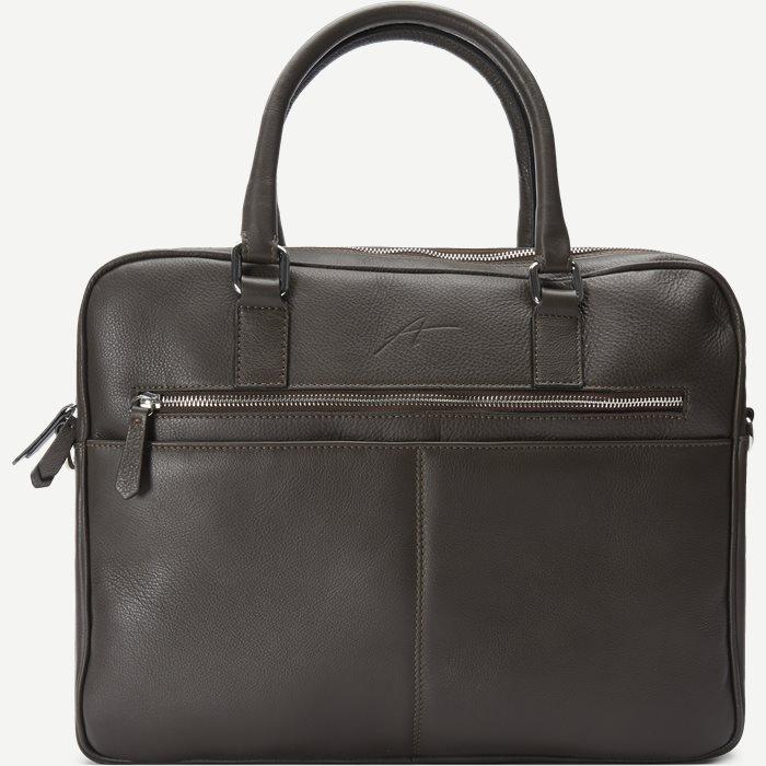 Business Bag - Tasker - Brun