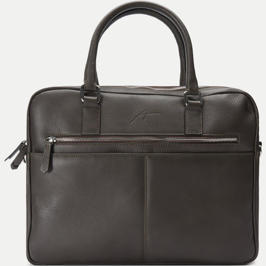 40 BUSINNESS BAG - Business Bag - Tasker - BRUN - 1