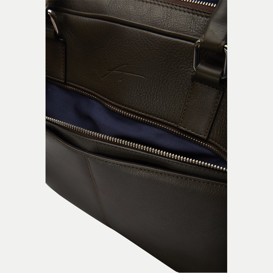 40 BUSINNESS BAG - Business Bag - Tasker - BRUN - 6