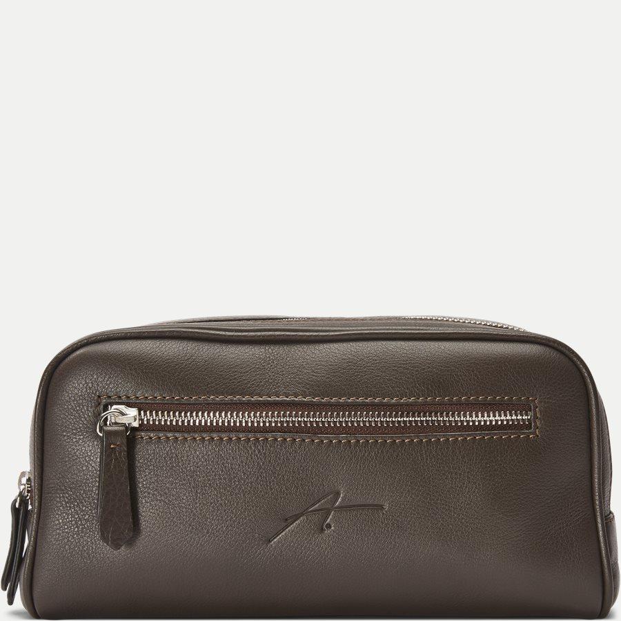 48 TOILET BAG - Toilet Bag - Tasker - BRUN - 1