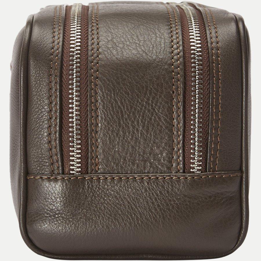 48 TOILET BAG - Toilet Bag - Tasker - BRUN - 2