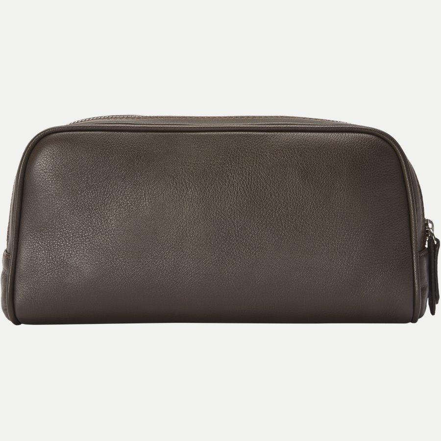 48 TOILET BAG - Toilet Bag - Tasker - BRUN - 3