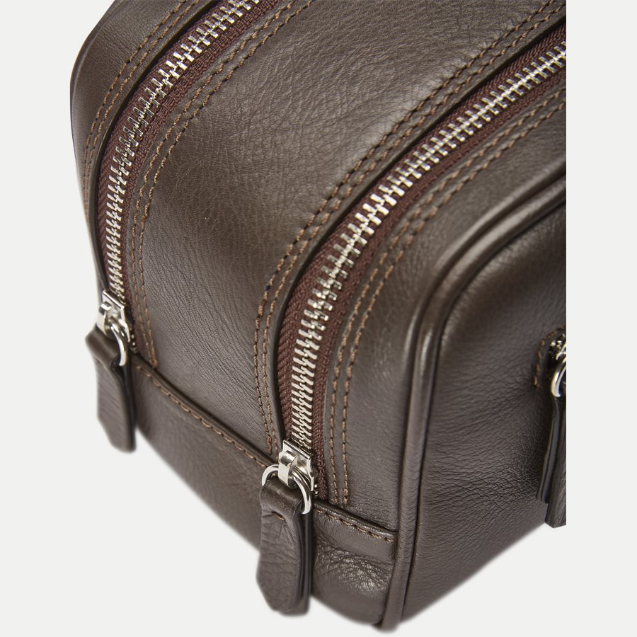 48 TOILET BAG - Toilet Bag - Tasker - BRUN - 5