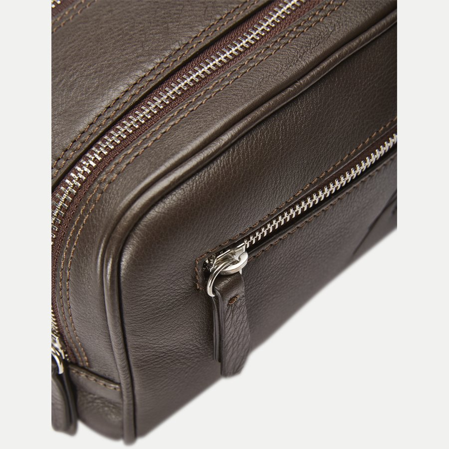 48 TOILET BAG - Toilet Bag - Tasker - BRUN - 6
