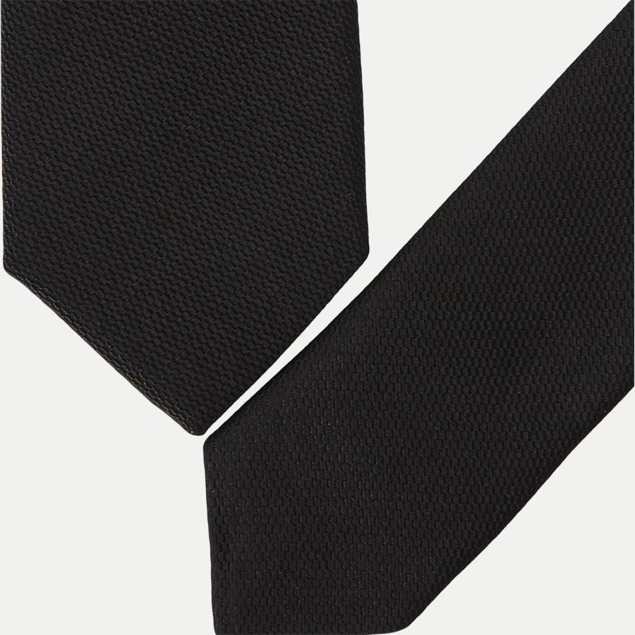 U51976 SAMUELL - Krawatten - SORT - 2