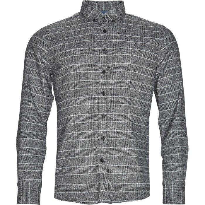 Ben Emon Skjorte - Skjorter - Regular - Grå