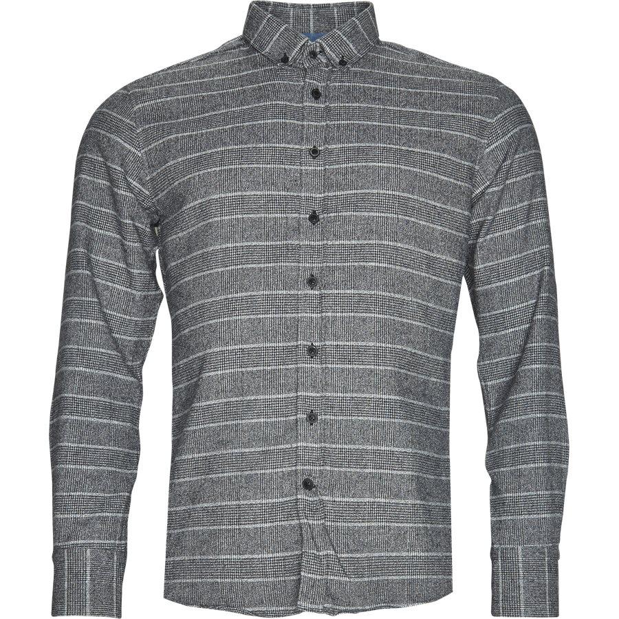 BEN EMON 14-60081 - Ben Emon Skjorte - Skjorter - Regular - GRÅ - 1