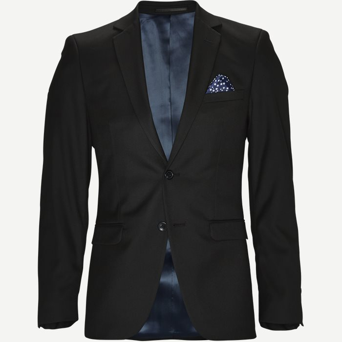 Ward Blazer - Blazer - Slim - Sort