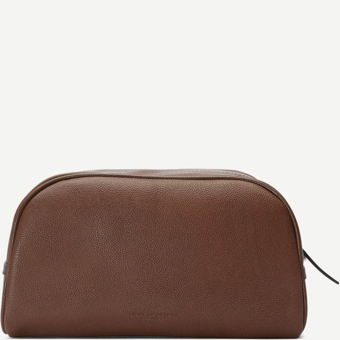 Bonardi Toiletry Bag - Tasker - Brun