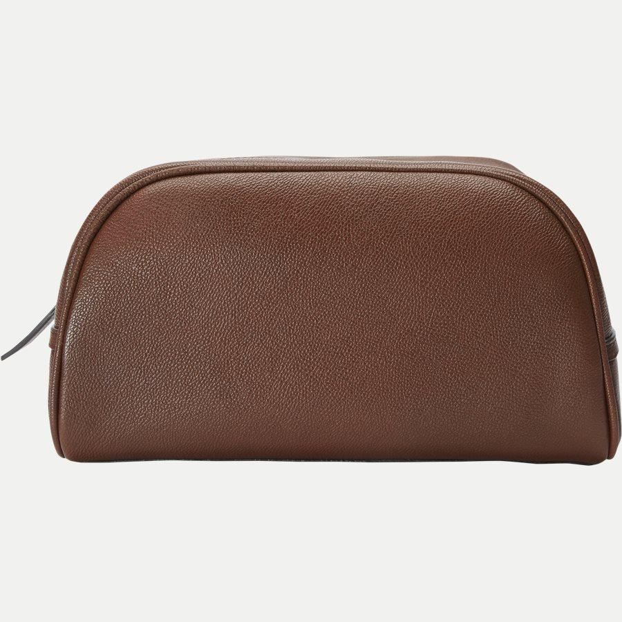 U62216035 BONARDI - Bonardi Toiletry Bag - Tasker - BRUN - 3