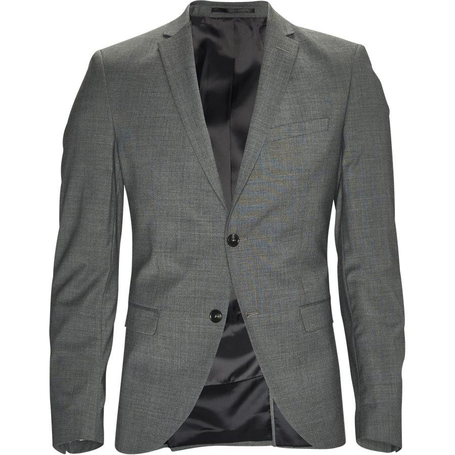 GILBERT BLAZER - Kostymer - Regular - GRÅ - 1