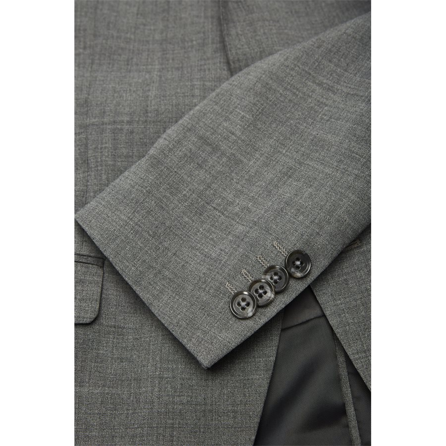 GILBERT BLAZER - Kostymer - Regular - GRÅ - 4