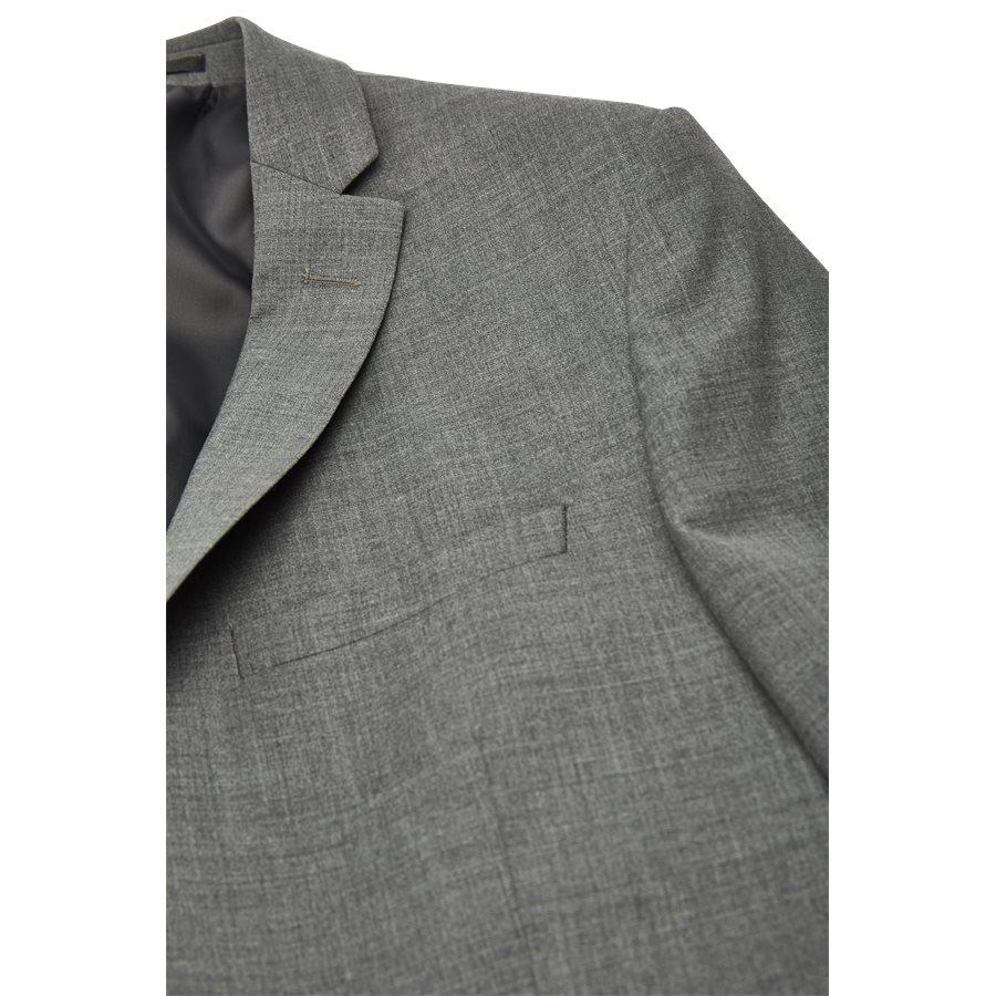 GILBERT BLAZER - Kostymer - Regular - GRÅ - 5