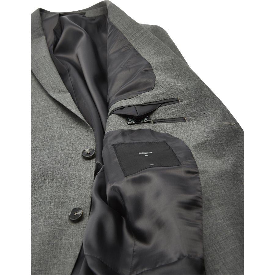 GILBERT BLAZER - Kostymer - Regular - GRÅ - 6