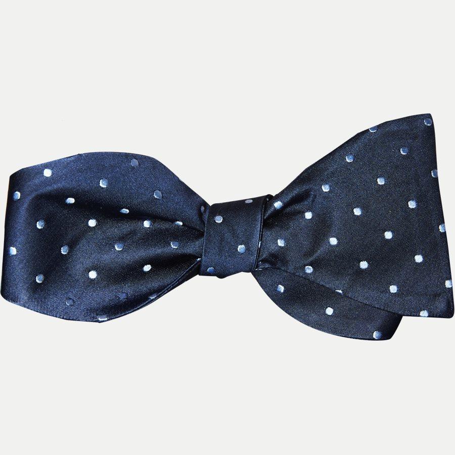 4193 BUTTERFLY - Krawatten - NAVY - 1
