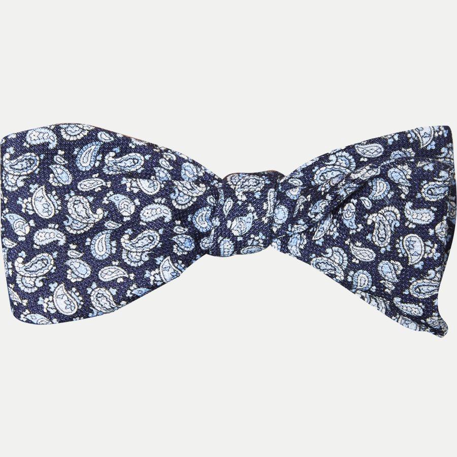 4828 BUTTERFLY - Krawatten - NAVY - 1