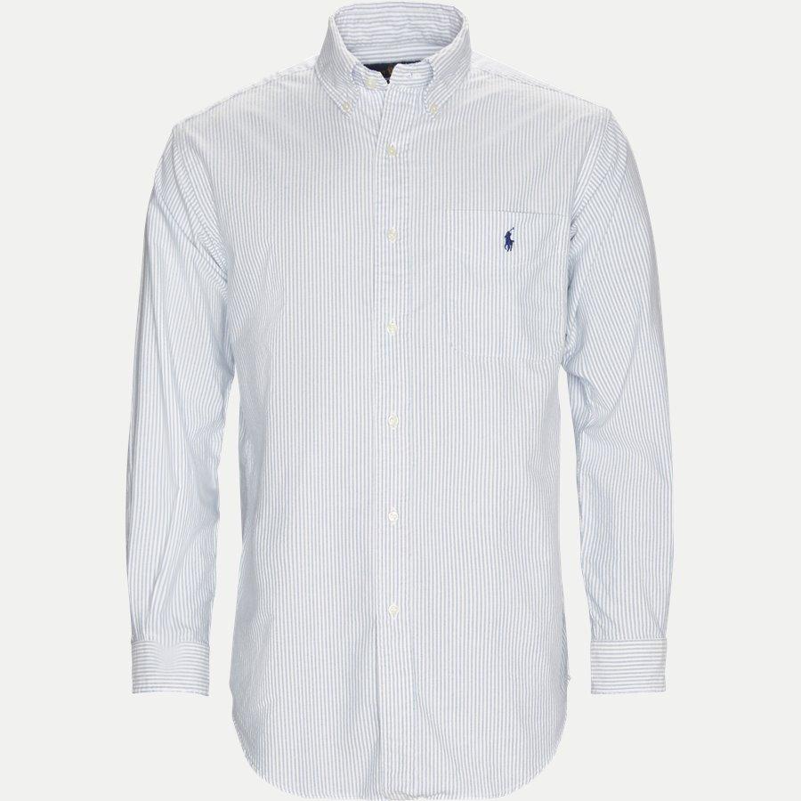 A04XZC28XY7GS - Cotton Easy Fit Shirt - Skjorter - Regular - STRIBET - 1