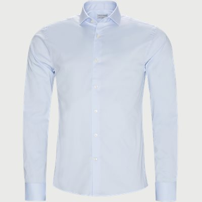 Farrell5 Skjorte Slim | Farrell5 Skjorte | Blå