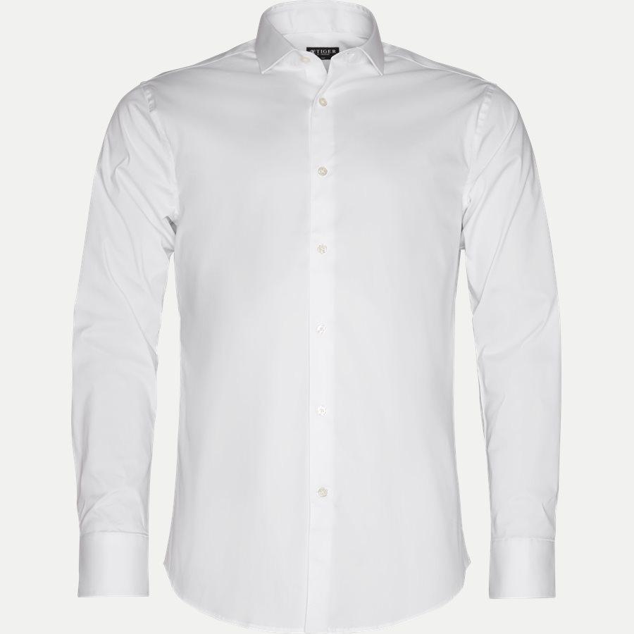 39243 FARRELL 5 - Farrel5 Skjorte - Skjorter - Slim - HVID - 1