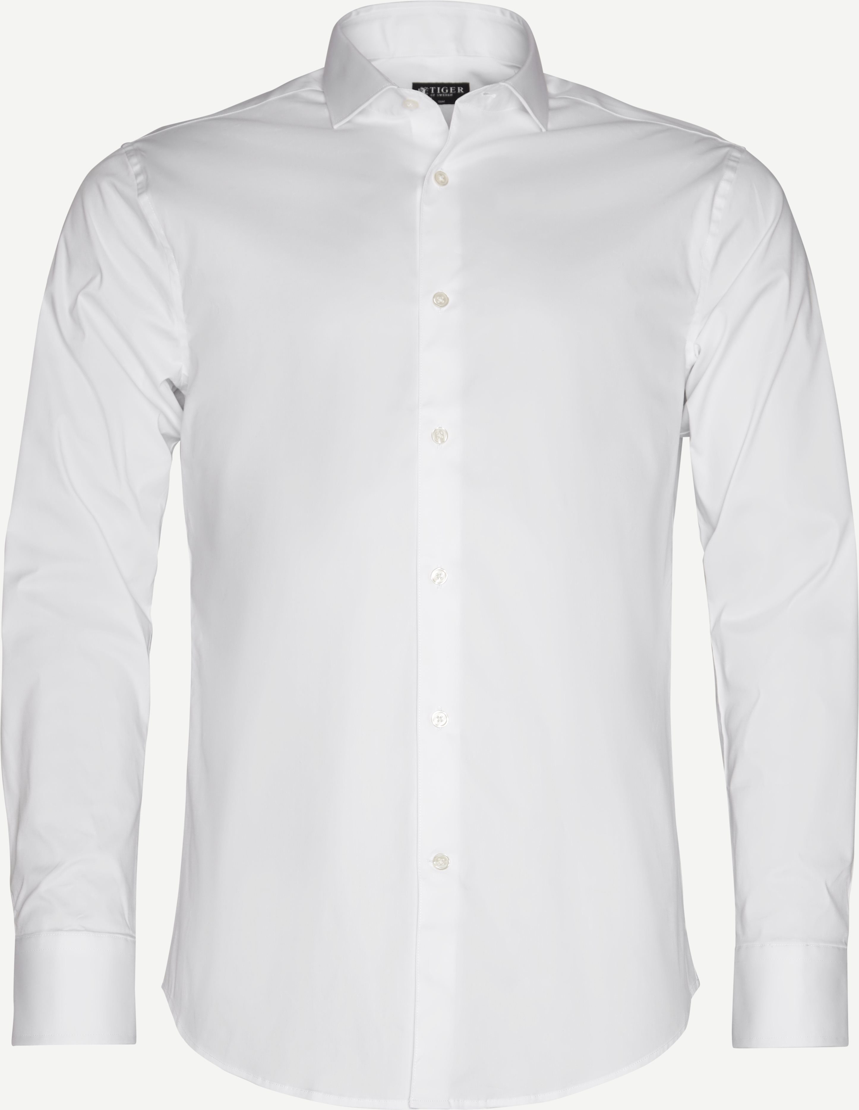 Farrell5 Skjorte - Skjorter - Slim fit - Hvid