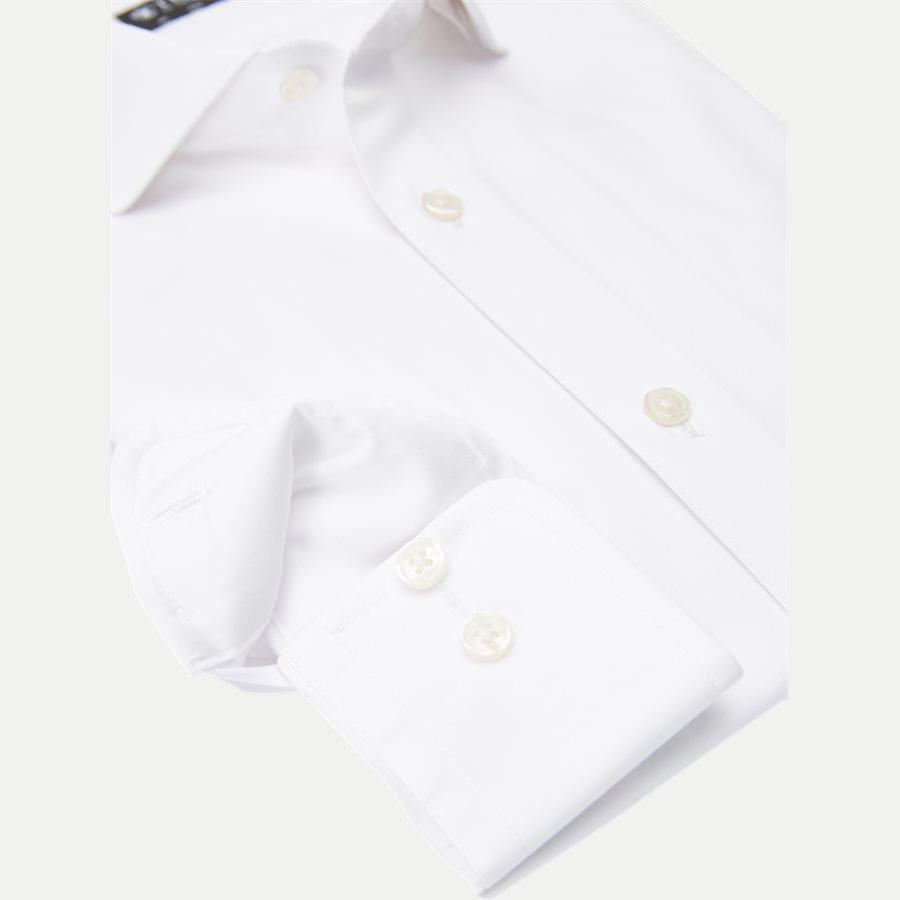 39243 FARRELL 5 - Farrel5 Skjorte - Skjorter - Slim - HVID - 4