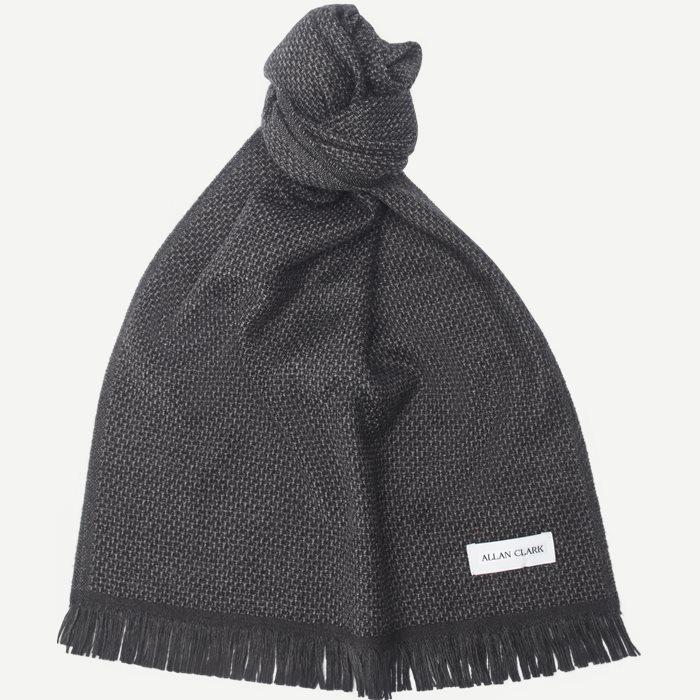 Wool Scarf - Tørklæder - Grå