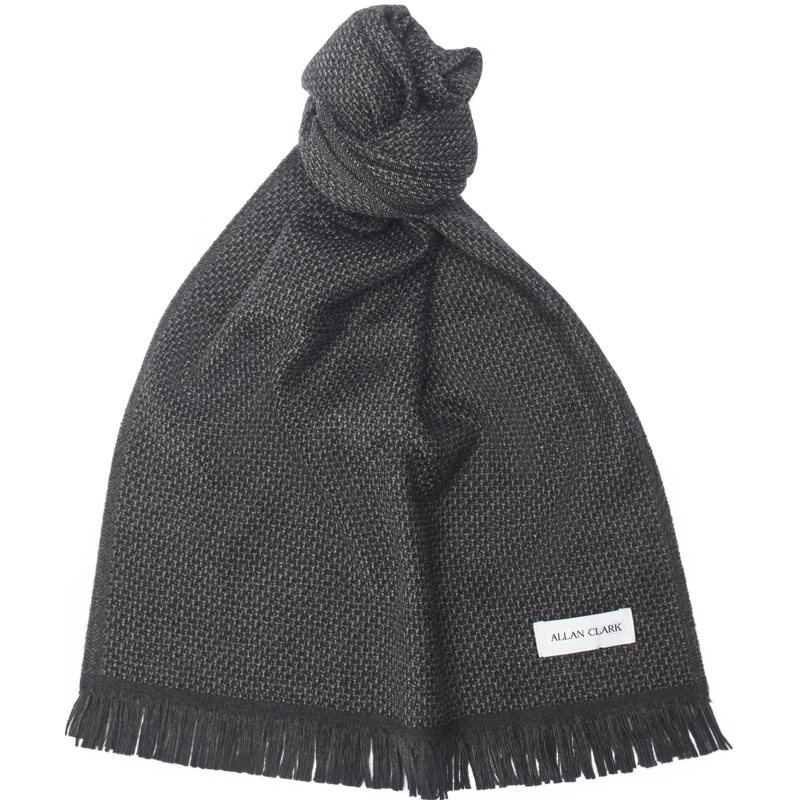 allan clark Allan clark - wool scarf fra Edgy.dk