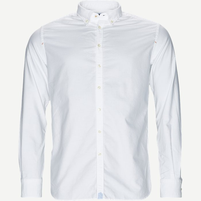 Oxford Shirt - Skjorter - Casual fit - Hvid