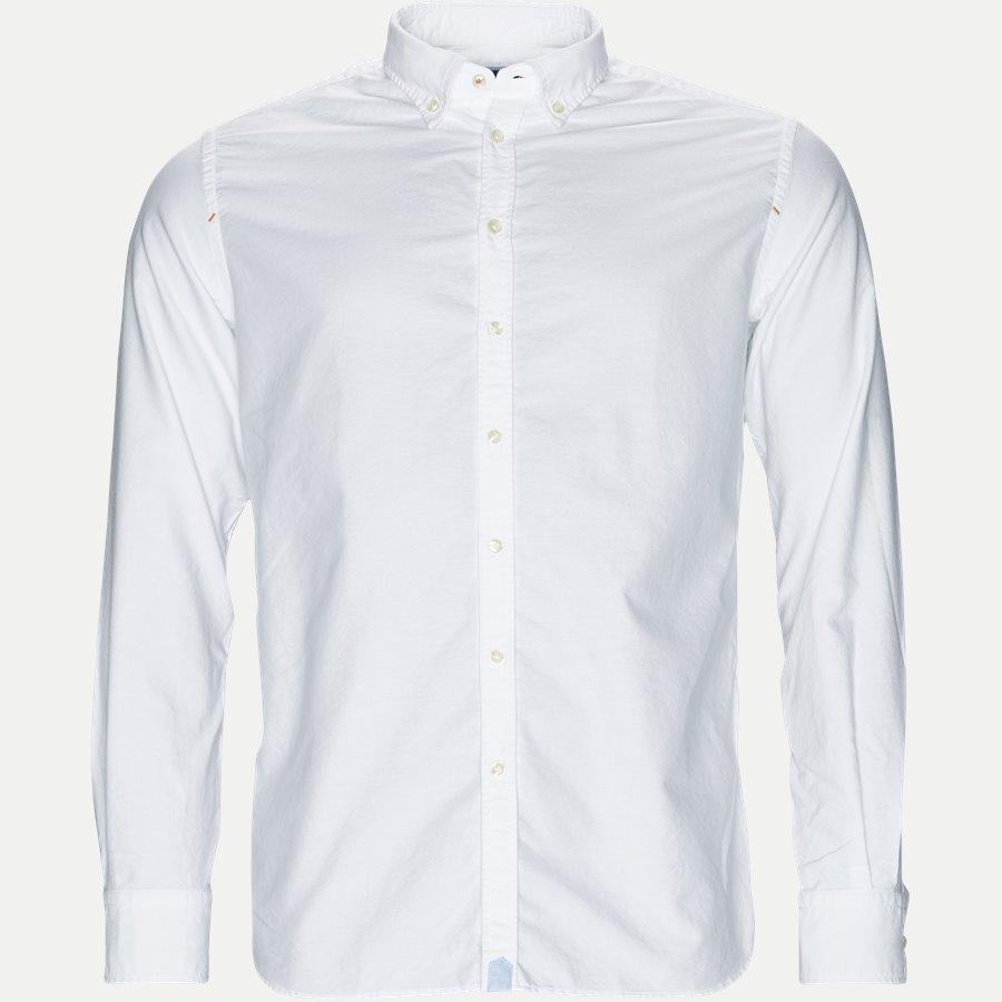 92062 OXFORD SHIRT - Oxford Shirt - Skjorter - Casual fit - HVID - 1