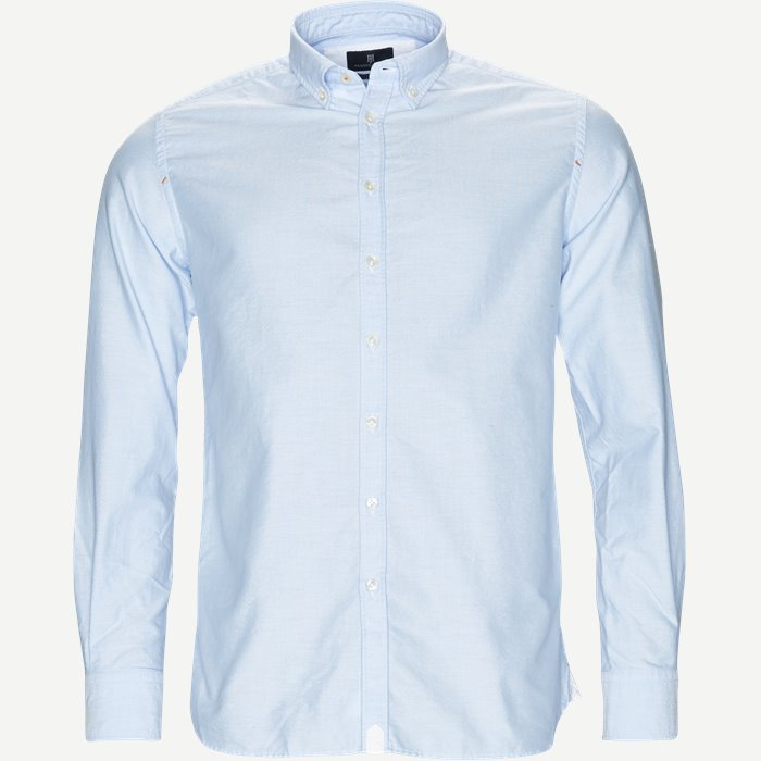 Oxford Shirt - Skjorter - Casual fit - Blå