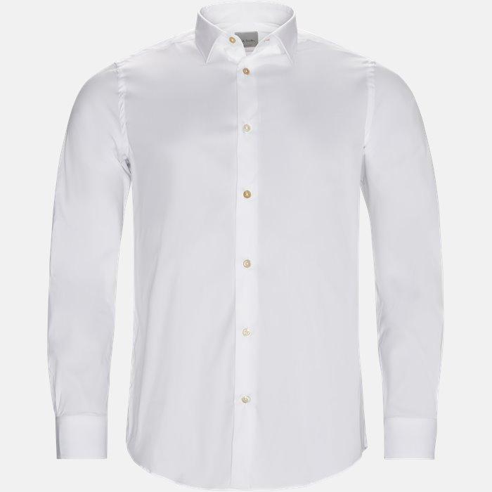 800P B03 Skjorter - Skjorter - Hvid