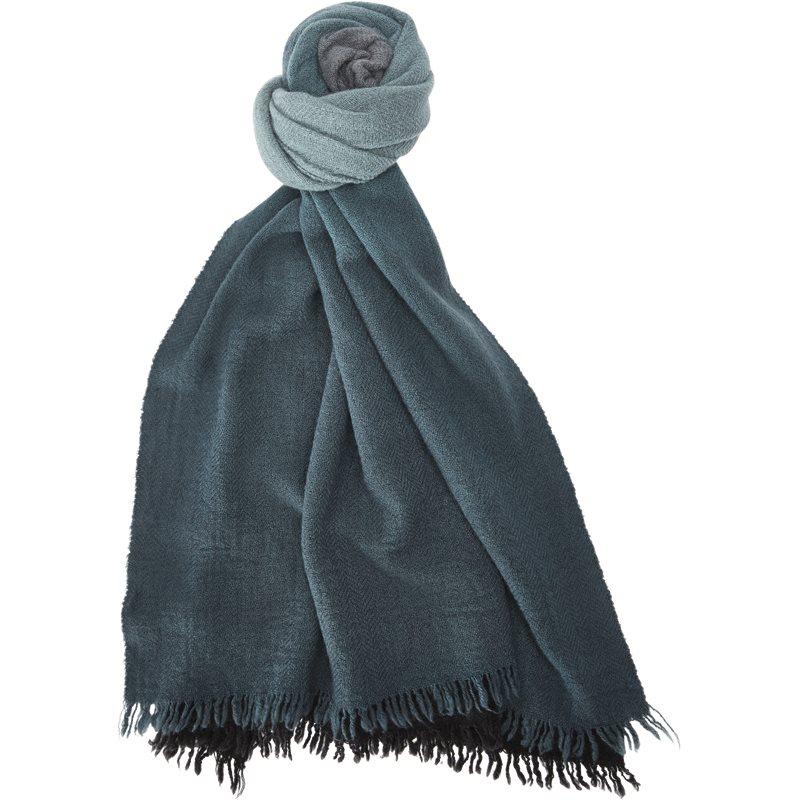 Paul smith accessories 789d s89 tørklæder black/grey fra paul smith accessories på axel.dk