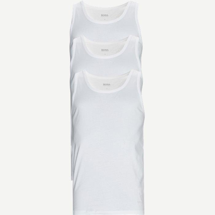 3-pak Tank Top - Undertøj - Regular - Hvid