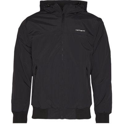 Hooded Sail Jacket Regular | Hooded Sail Jacket | Sort
