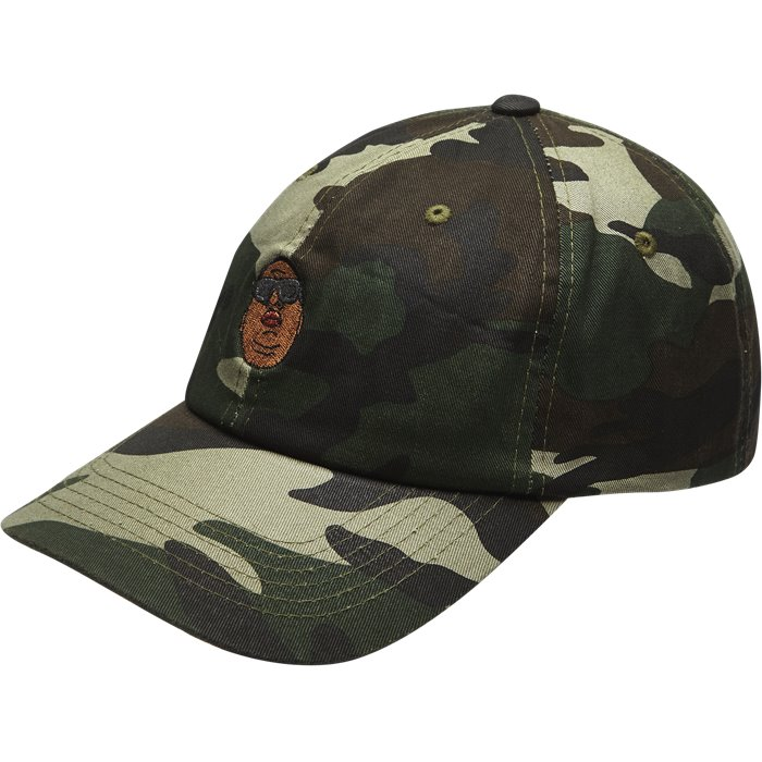 Papa Dad Cap - Caps - Army