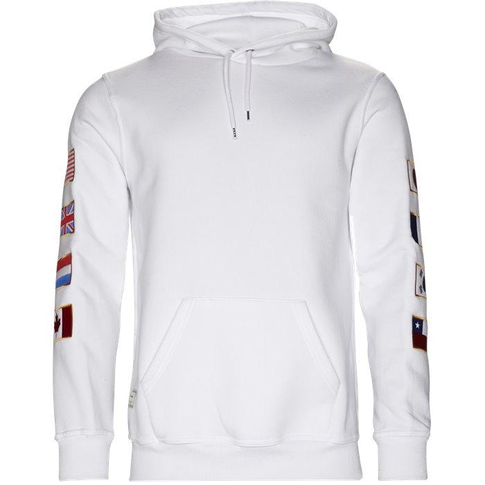 United - Sweatshirts - Regular - Hvid