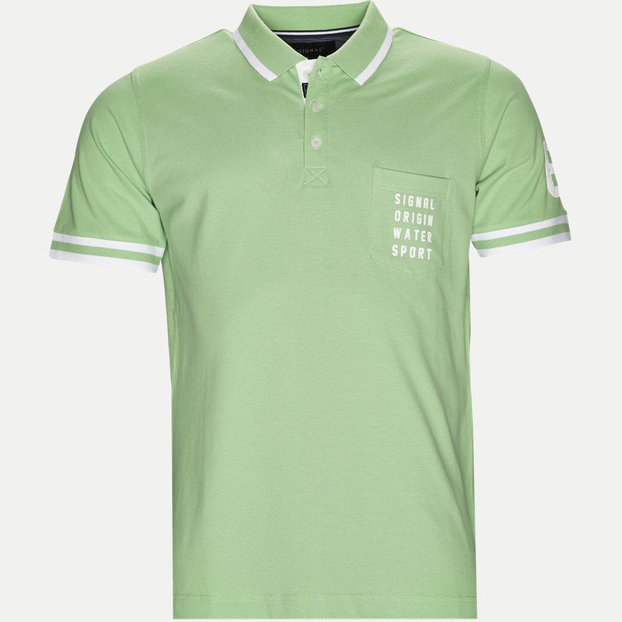 13183 67 - Polo T-shirt - T-shirts - Regular - GRØN - 1