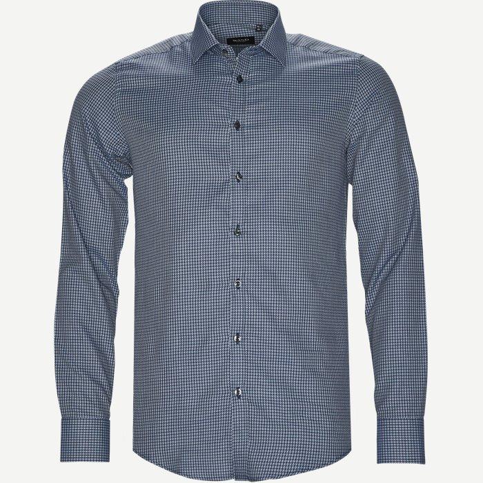 8735 Iver/State Skjorte - Skjorter - Blå