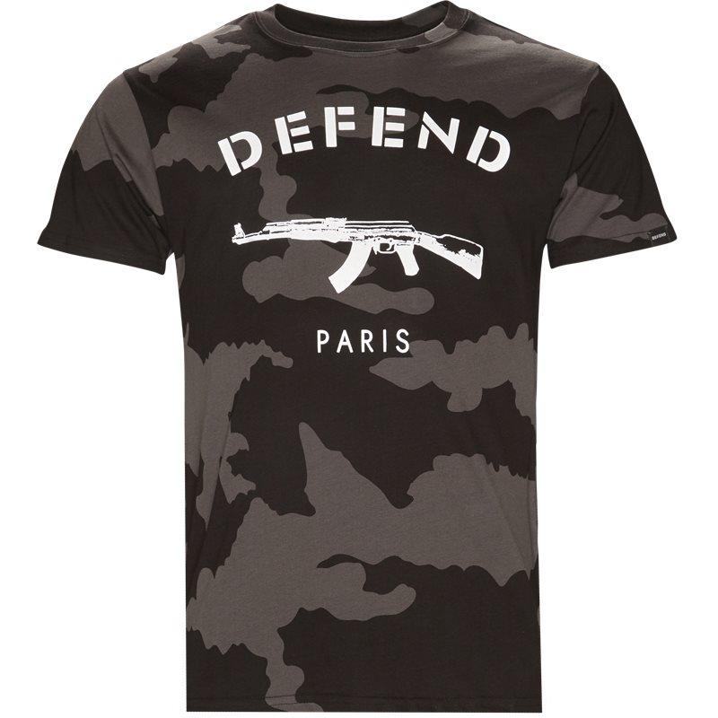 Billede af Defend Paris Paris Tee Camo Sort