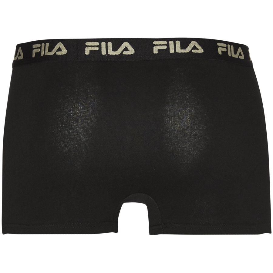 FU5004 1 PACK - Underkläder - Regular - SORT - 2