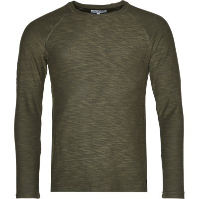Regular | Round neck knitwear | Army