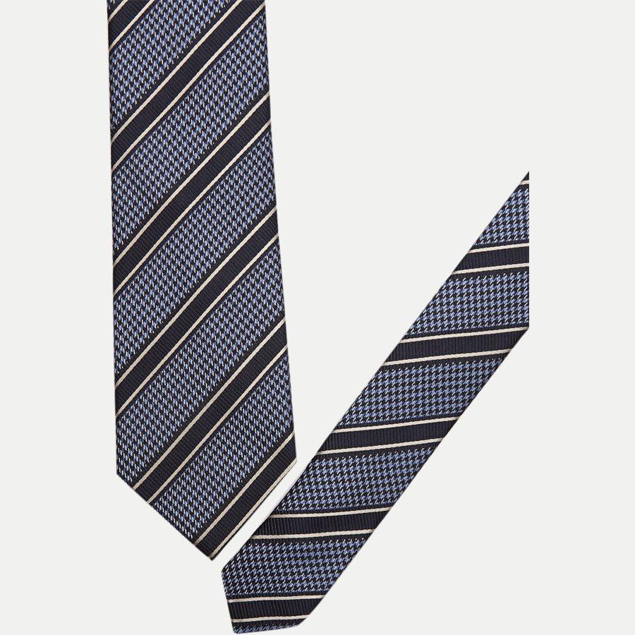 K572 - Krawatten - NAVY - 2