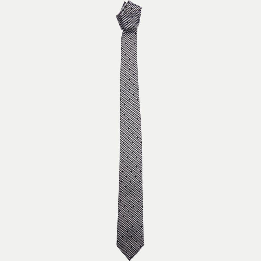 K573 - Krawatten - NAVY - 1